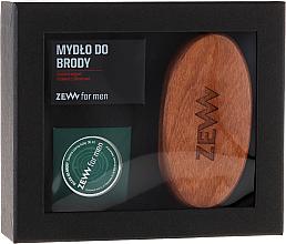 Kup PRZECENA! Zestaw do pielęgnacji zarostu - Zew For Men (oil 30 ml + soap 85 ml + brush) *