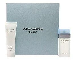 Kup Dolce & Gabbana Light Blue - Zestaw (edt 100 ml + b/cr 100 ml)