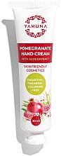 Kup Krem do rąk Aloe Vera Granat - Yamuna Pomegranate Hand Cream With Aloe Vera