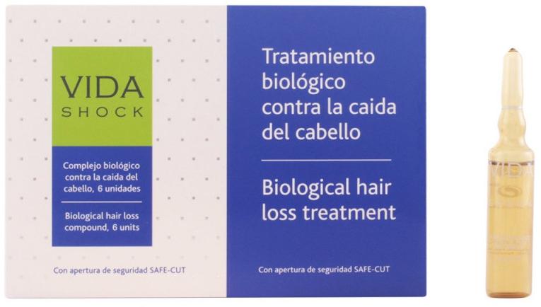 Ampułki przeciw wypadaniu włosów - Luxana Vida Shock Ampoule Anticaida — фото N1