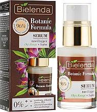 Kup Nawilżające serum Olej z konopi + szafran - Bielenda Botanic Formula