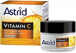 Kup Krem przeciwzmarszczkowy na dzień z witaminą C - Astrid Vitamin C Daily Anti-Wrinkle Cream