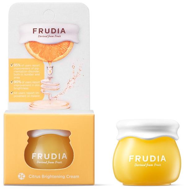 Wybielający krem do twarzy - Frudia Brightening Citrus Cream (miniprodukt) — фото N1