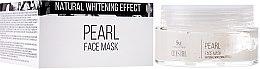 Kup Perłowa maska wybielająca do twarzy - SM Collection Crystal Pearl Face Mask