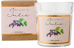 Kup Świeca zapachowa w szkle Werbena - Ambientair Le Jardin de Julie Verveine