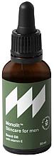 Kup PRZECENA! Olejek do brody z witaminą E - Monolit Skincare For Men Beard Oil With Vitamin E *