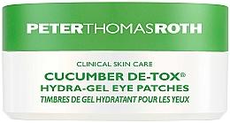 Kup Hydrożelowe płatki pod oczy z ekstraktem z ogórka - Peter Thomas Roth Cucumber De-Tox Hydra-Gel Eye Patches