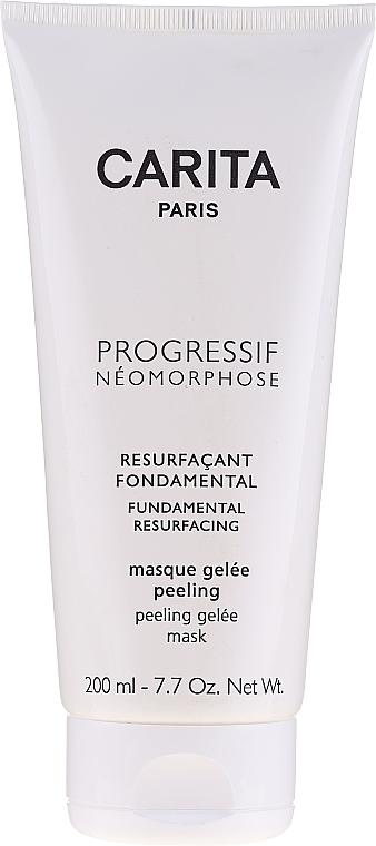 Żelowa maska peelingująca do twarzy - Carita Progressif Neomorphose Fundamental Resurfacing Gel Peeling Mask — фото N1