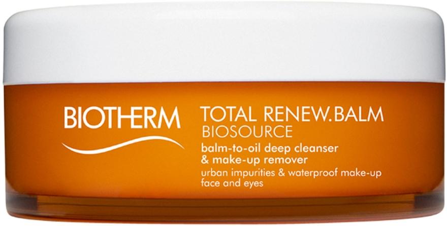 Olejkowy balsam do demakijażu - Biotherm Biosource Balm-To-Oil Deep Cleanser & Make-Up Remover — фото N1