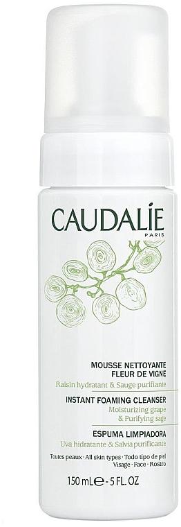 Pianka łagodnie oczyszczająca cerę - Caudalie Instant Foaming Cleanser Fleur de Vigne