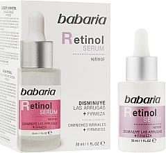 Kup Liftingujące serum do twarzy - Babaria Retinol Serum