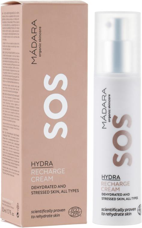 Rewitalizujący krem do twarzy - Madara Cosmetics SOS Hydra Recharge Cream — фото N1