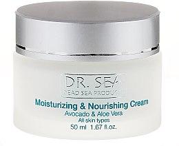 Kup Nawilżająco-odżywczy krem do twarzy z awokado i aloesem - Dr. Sea Moisturizing & Nourishing Cream