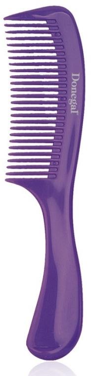 Grzebień do włosów 21 cm, fioletowy - Donegal Hair Comb — фото N1