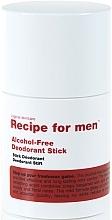 Kup Dezodorant w sztyfcie dla mężczyzn - Recipe For Men Alcohol Free Deodorant Stick