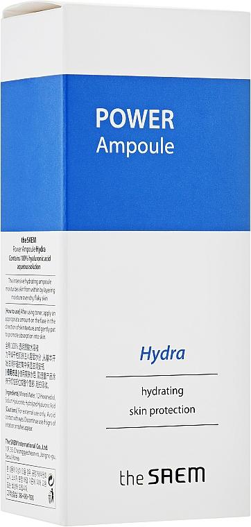 Nawilżająca ampułka do twarzy - The Saem Power Ampoule Hydra — фото N2