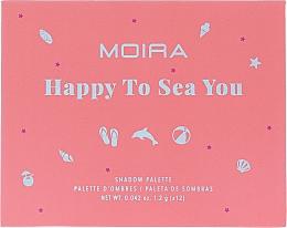 Kup Paleta cieni do powiek - Moira Happy To Sea You Shadow Palette