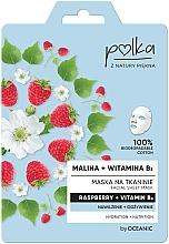 Kup Maska na tkaninie do twarzy Nawilżenie + odżywienie Malina + witamina B3 - Polka Raspberry And Vitamin B3 Facial Sheet Mask