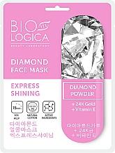 Kup Maska z pudrem diamentowym Ekspresowe rozświetlenie - Biologica Diamond