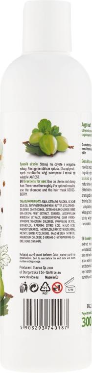 Obłędnie owocowa odżywka łagodząca do wrażliwej skóry głowy - Ovoc Agrest — фото N2