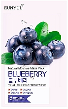 Kup Maska na tkaninie do twarzy z ekstraktem z jagód - Eunyul Natural Moisture Blueberry Mask