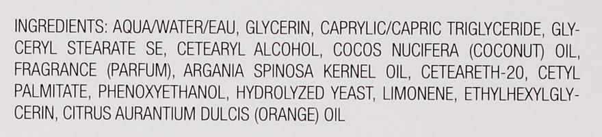 Ochronna kremowa maska do twarzy Pomarańcza i kokos - Klapp Aroma Selection Orange-Coconut Mask — фото N4