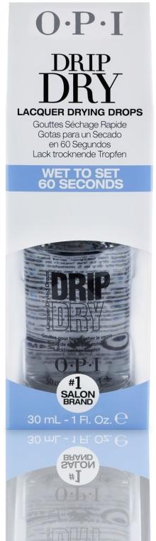 Krople przyspieszające schnięcie lakieru do paznokci - O.P.I Drip Dry Drops — фото N2
