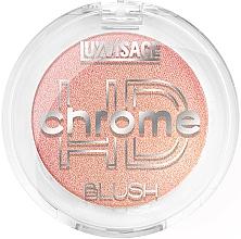 Kup Błyszczący róż do policzków - Luxvisage HD Chrome Blush