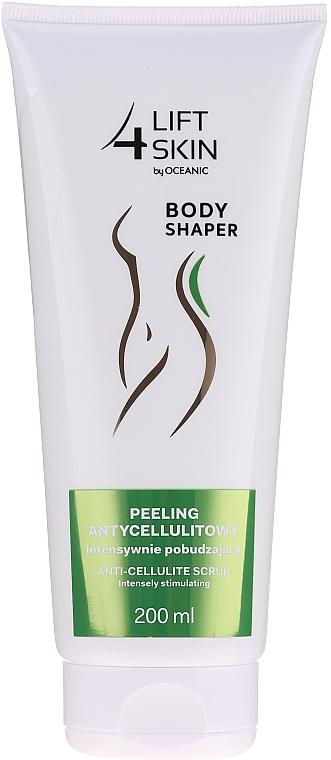 Peeling antycellulitowy intensywnie pobudzający - Lift4Skin Body Shaper Anti-Cellulite Body Scrub