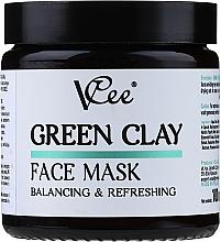 Kup Maseczka do twarzy z zieloną glinką - VCee Green Clay Face Mask Balancing&Refreshing