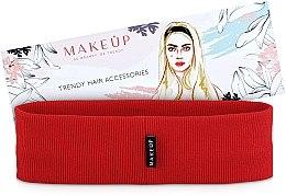 Kup Opaska na głowę Be Beauty, czerwona (20 x 6 cm) - Makeup