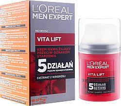 Kup Nawilżający krem przeciwstarzeniowy dla mężczyzn - L'Oreal Paris Men Expert Vita Lift 5