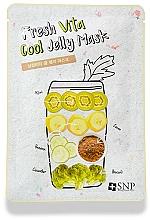 Kup Chłodząca maseczka w płachcie do twarzy - SNP Fresh Vita Cool Jelly Mask