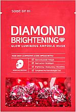 Kup Rozjaśniająca maska w płachcie do twarzy z ekstraktem z granatu - Some By Mi Diamond Brightening Calming Glow Luminous Ampoule Mask