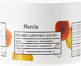 Kup Peeling cukrowo-solny z ekstraktem z liczi i olejem makadamia - Vis Plantis Herbal Vital Care