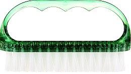 Kup Szczoteczka kosmetyczna do paznokci, 74752, zielona - Top Choice