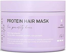 Kup Proteinowa maska do włosów niskoporowatych - Trust My Sister