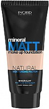 Kup Mineralny podkład matujący - Ingrid Cosmetics Mineral Matt Make Up Foundation