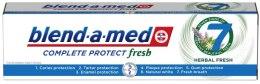 Kup Ziołowa pasta do zębów - Blend-a-med Complete Protect Fresh 7 Herbal Fresh Toothpaste