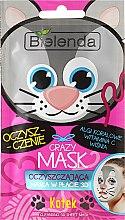 Kup Oczyszczająca maska w płacie 3D Kotek - Bielenda Crazy Mask