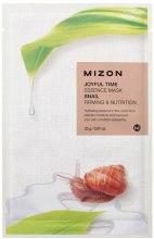 Kup Ujędrniająca maska odżywcza na tkaninie Ekstrakt ze śluzu ślimaka - Mizon Joyful Time Essence Mask Snail