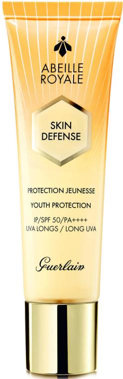 Przeciwsłoneczny krem do twarzy SPF 50/PA++++ - Guerlain Abeille Royale Skin Defense Protection — фото N1