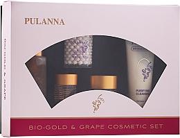 Kup Zestaw - Pulanna Bio-gold & Grape (f/cr/2x58g + eye/cr/21g + f/ton/90g + f/milk/90g)