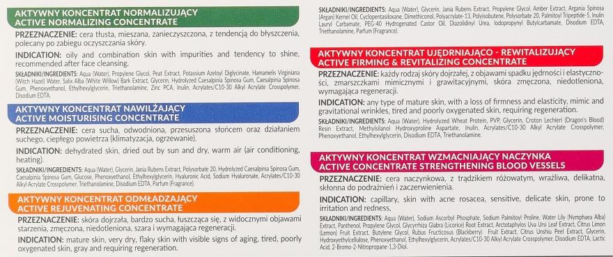 Zestaw aktywnych koncentratów do pielęgnacji skóry - Farmona Professional (10 x concentrate 5 ml) — фото N5