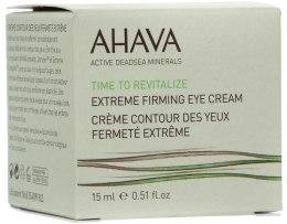 Kup Ujędrniający krem na okolice oczu - Ahava Time to Revitalize Extreme Firming Eye Cream