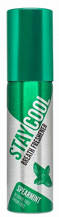 Miętowy spray odświeżający do ust - Stay Cool Breath Fresheners Spearmint — фото N1