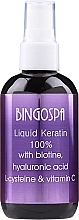 Kup Płynna keratyna 100% z biotyną, kwasem hialuronowym, L-cysteiną i witaminą C - BingoSpa Liquid Keratin 100%