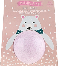 Kup Musująca kula do kąpieli Pianka marshmallow - Mad Beauty I Love Christmas Bath Fizzer Polar Bear