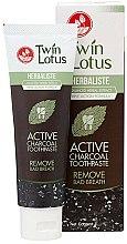 Kup Czarna pasta do zębów z węglem aktywnym - Twin Lotus Herbaliste Active Charcoal Toothpaste