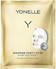 Kup Diamentowa maska w płachcie do twarzy - Yonelle Diamond Party Mask